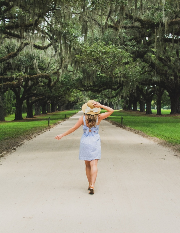 Mia at Boone Hall Plantation