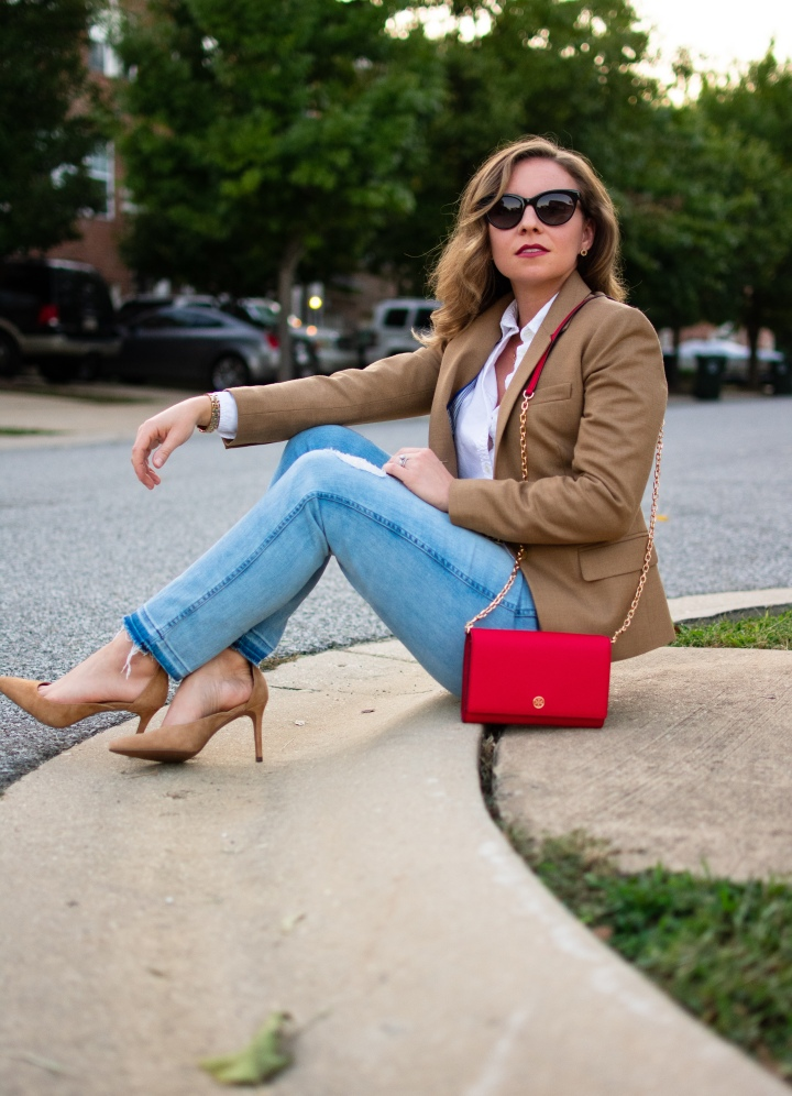 Fall Color Crush, Camel and Red