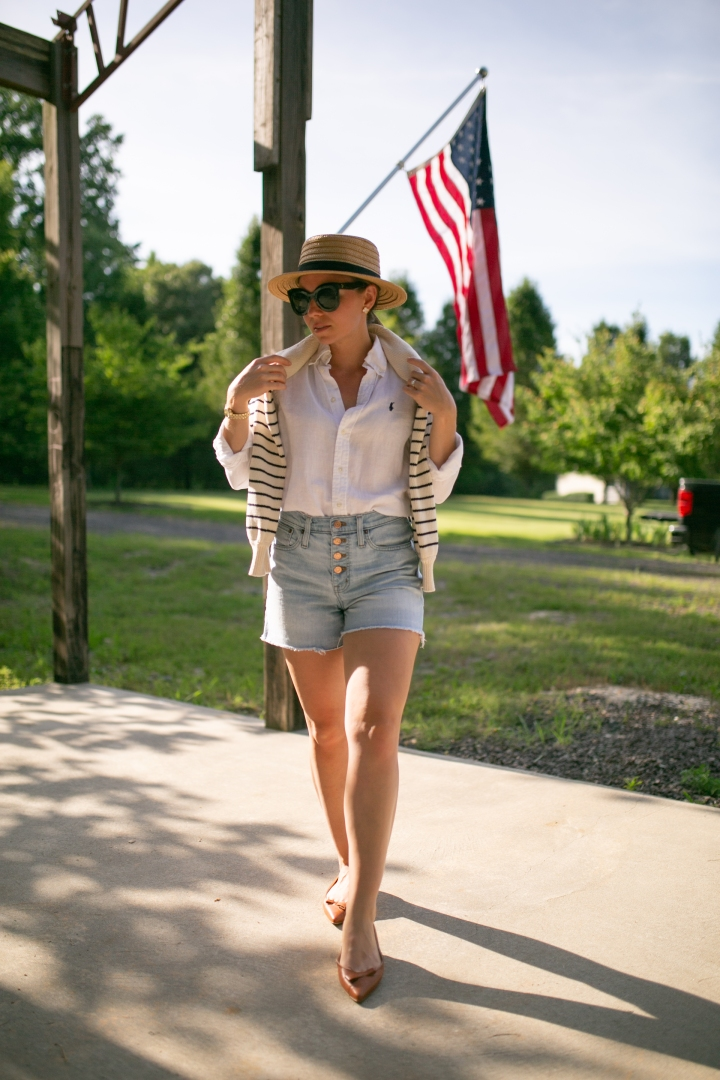 A Classic 4th of JulyLook